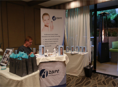 Azure Medical Technologies Golden Globes Celebrity Suite